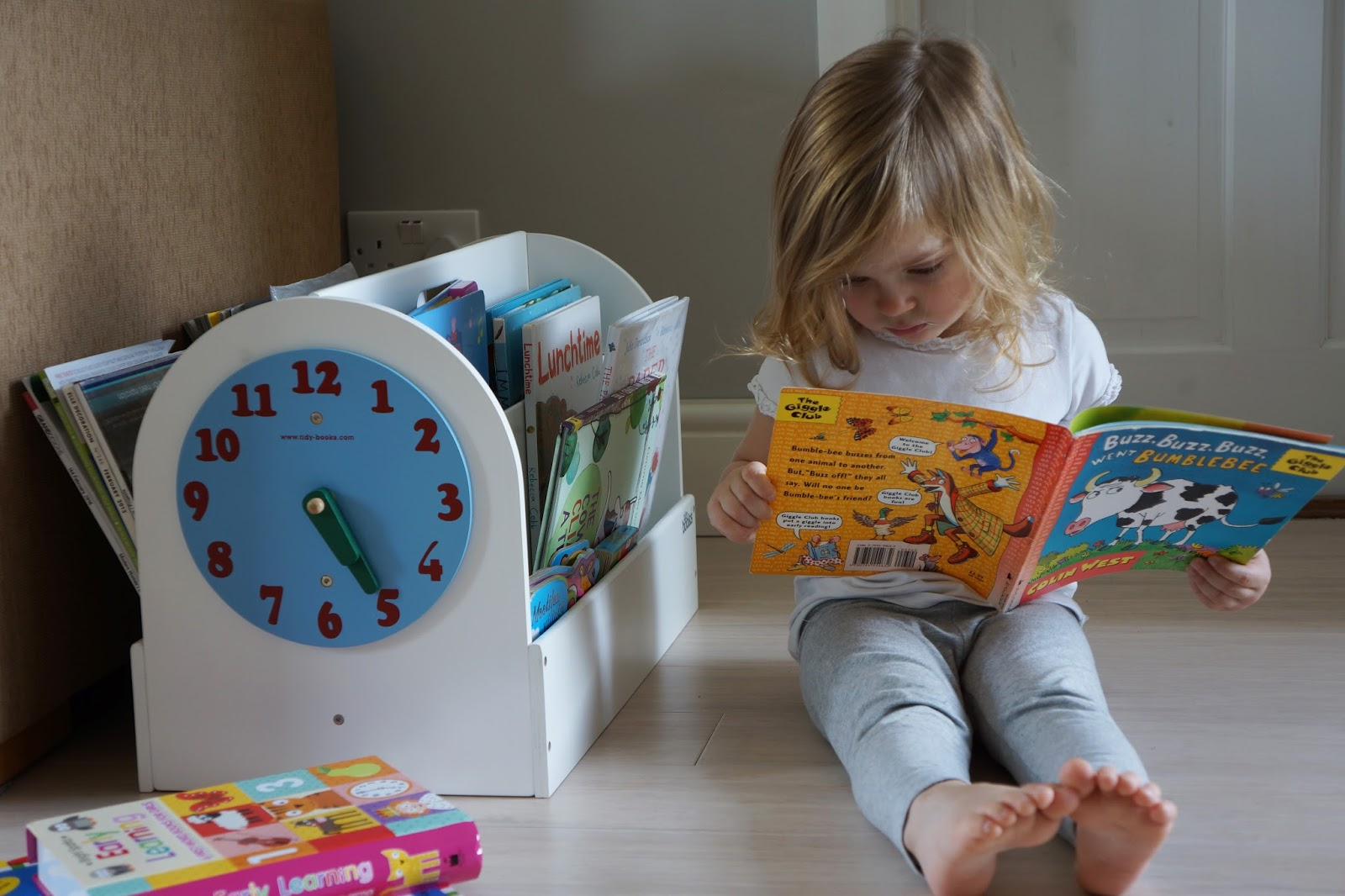 tidy books box toddler reading books
