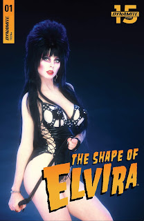 Cover E of The Shape of Elvira #1 from Dynamite Entertainment