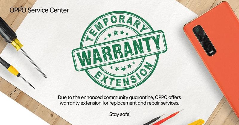 Warranty extension announcement