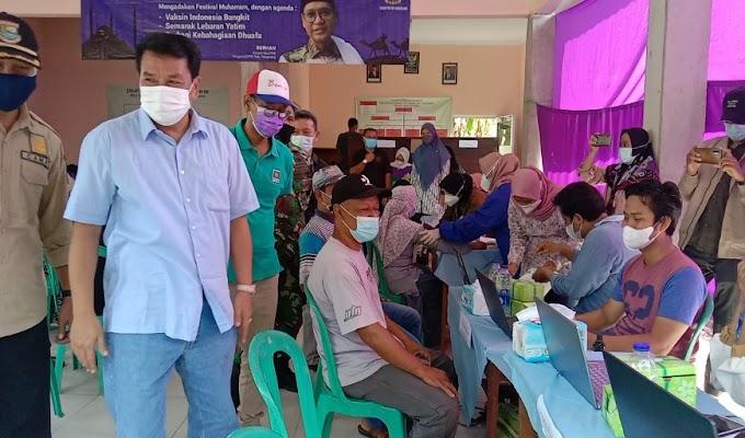 Gebyar Muharram, DPRD Kabupaten Tangerang Fraksi PKB Gelar Vaksinasi Massal di Solear