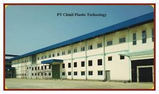 Lowongan Kerja Via Email PT Chinli Plastic Technology Indonesia Tangerang 2020