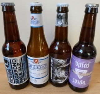 The four new gluten free beers I've recently found