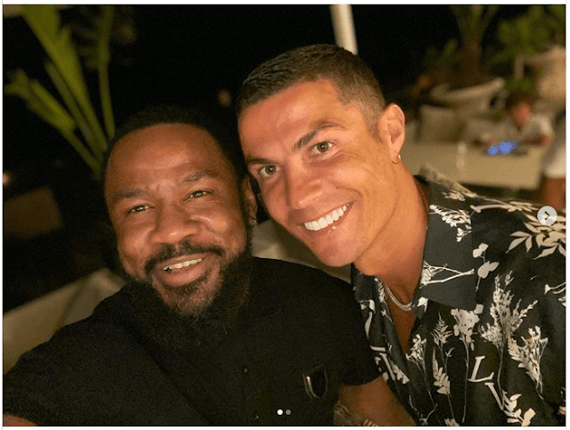 Cristiano Ronaldo é grande fã das musicas do C4 Pedro