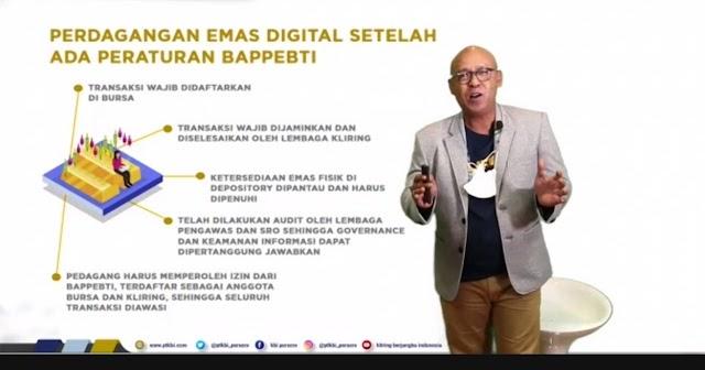 Diawasi Pemerintah, Investasi Emas Digital Prospek Masa Depan Menjanjikan