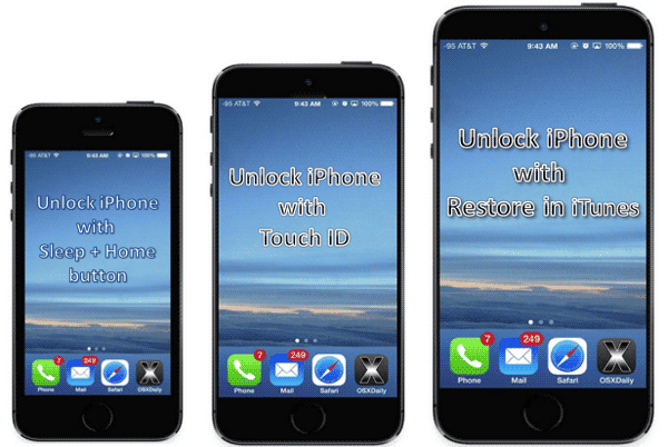 how to unlock iphone without password password recovery ways tips december 2014 9133