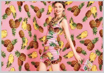 Foto della Sfilata di Stefany Barberis stile tropicale