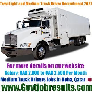 Trevi Light and Medium Truck Driver Recruitment 2021-22