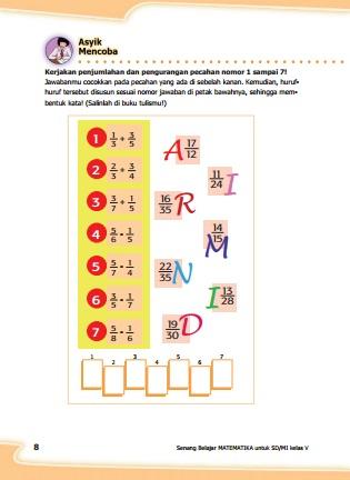 kunci jawaban buku matematika senang belajar matematika kelas 5 kurikulum 2013 revisi