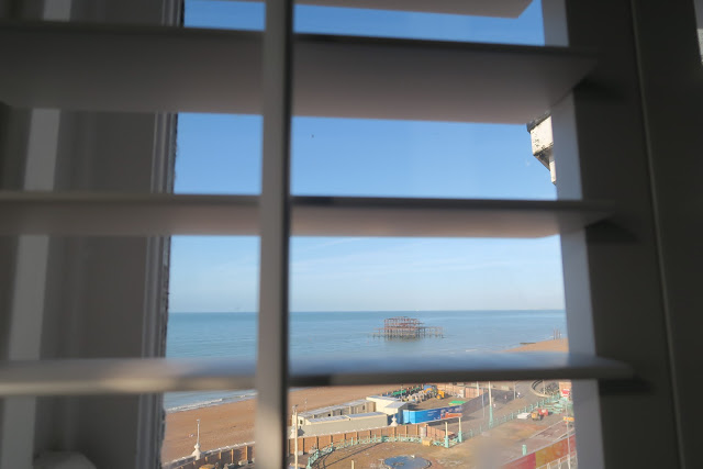 Brighton Harbour Hotel by Laura Lewis