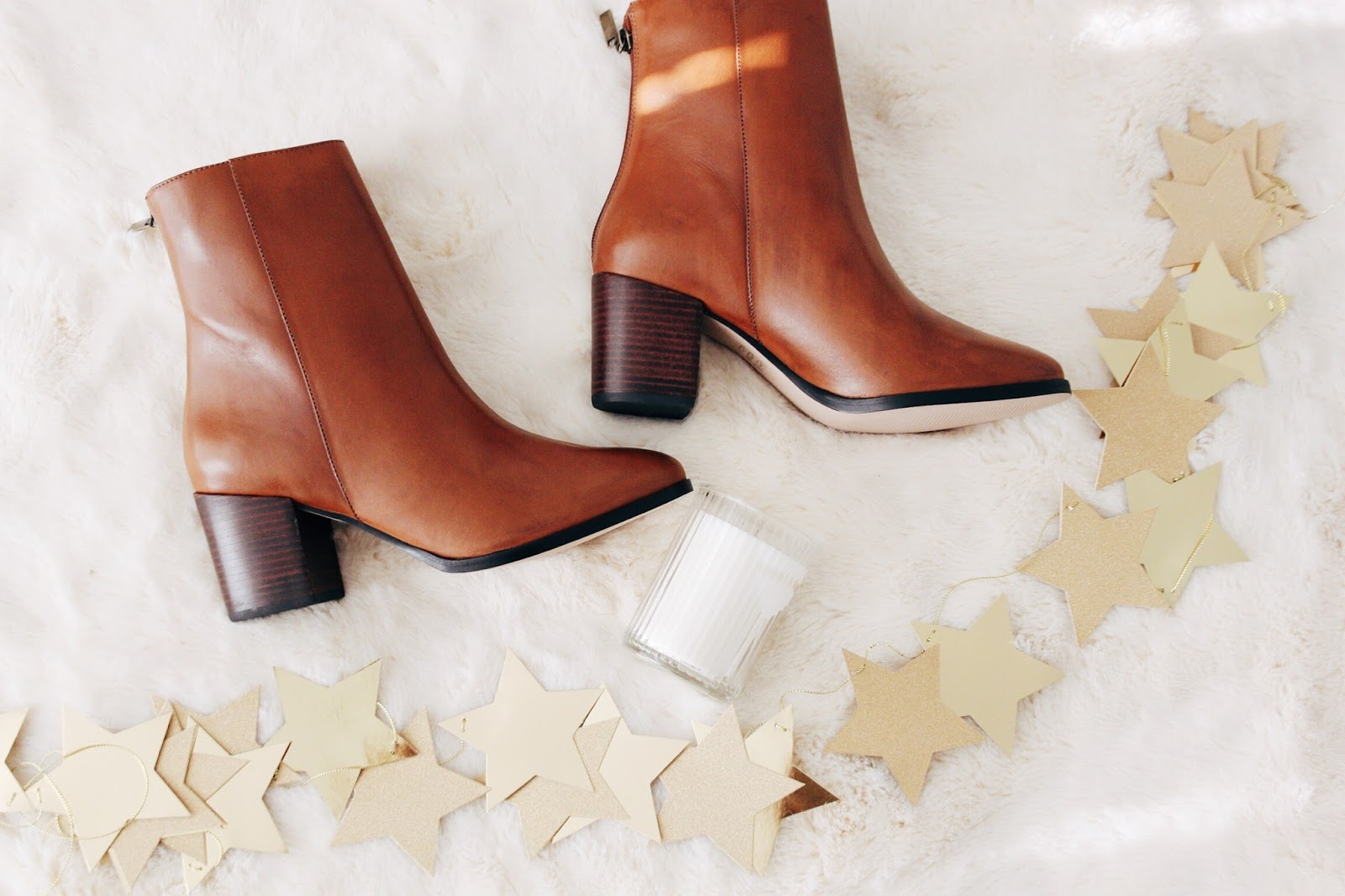 laura ashley tan leather ankle boots