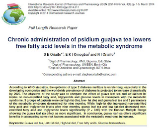 Daun Jambu (Psidium guajava Linn) untuk Diabetes, RTH, Rumah Terapi Herbal