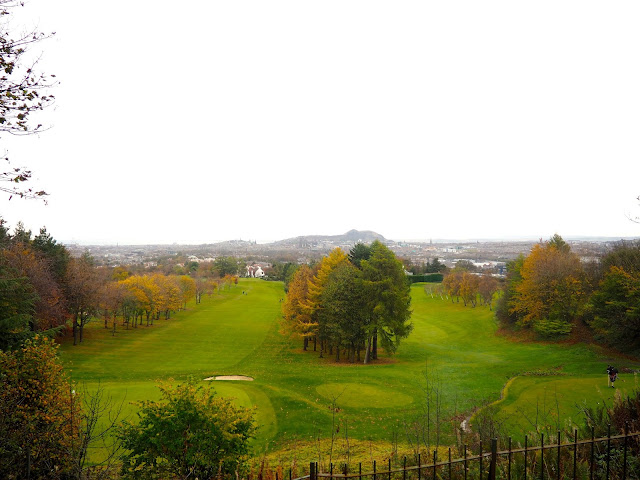 Edinburgh viewpoint from Rest and Be Thankful, Corstorphine Hill