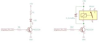 Rangkaian Transistor sebagai saklar serta perhitungannya