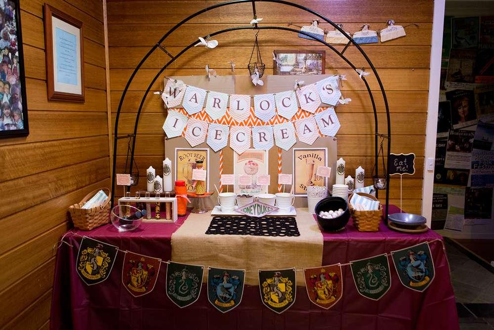 Los mil libros fiesta tem tica de harry potter for Harry potter cuartos decoracion