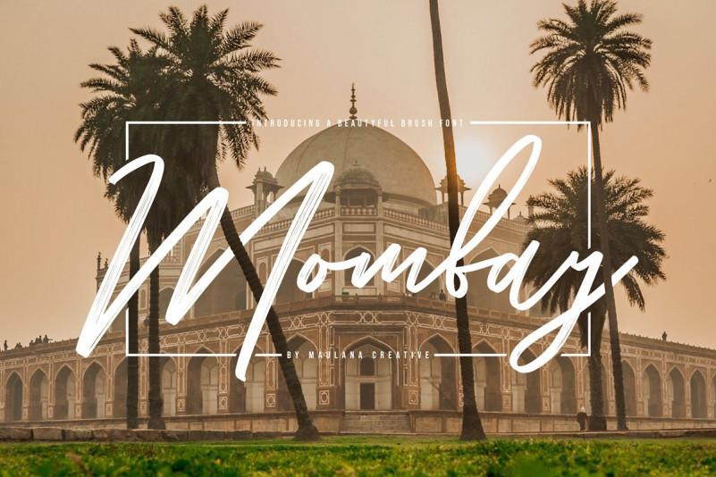 Mombay Font - Free Brush Script Typeface