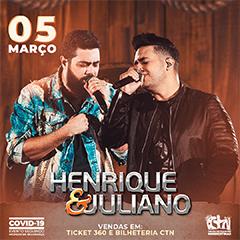 05/03/2021 Show de Henrique e Juliano em São Paulo [CTN Limão] Centro de Tradições Nordestinas