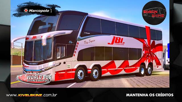 PARADISO G7 1800 DD 8X2 - JBL INTERNACIONAL