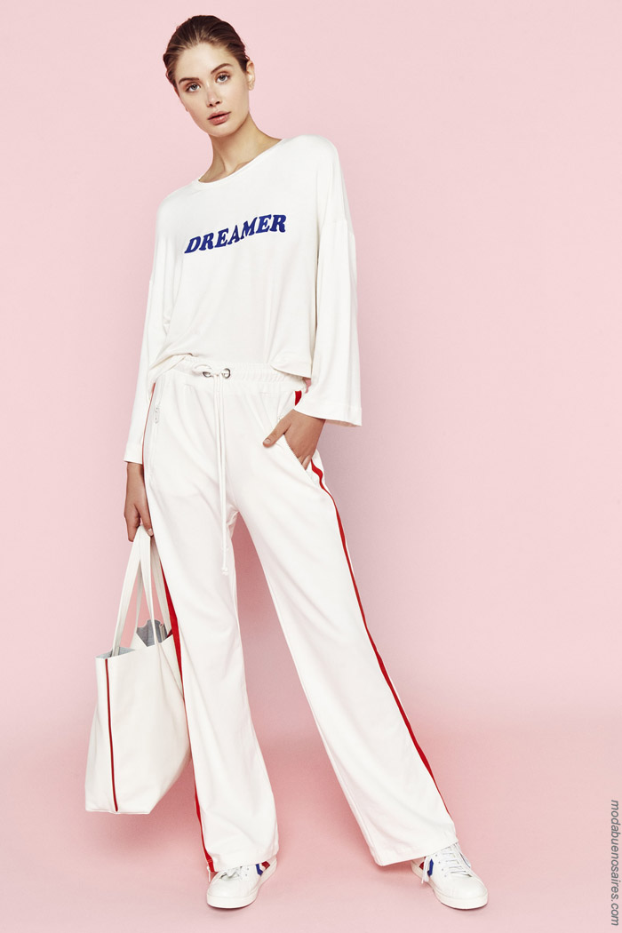 Looks sporty chic primavera verano 2020.