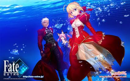 Anime Fate/Extra Diumumkan Tayang Tahun 2017