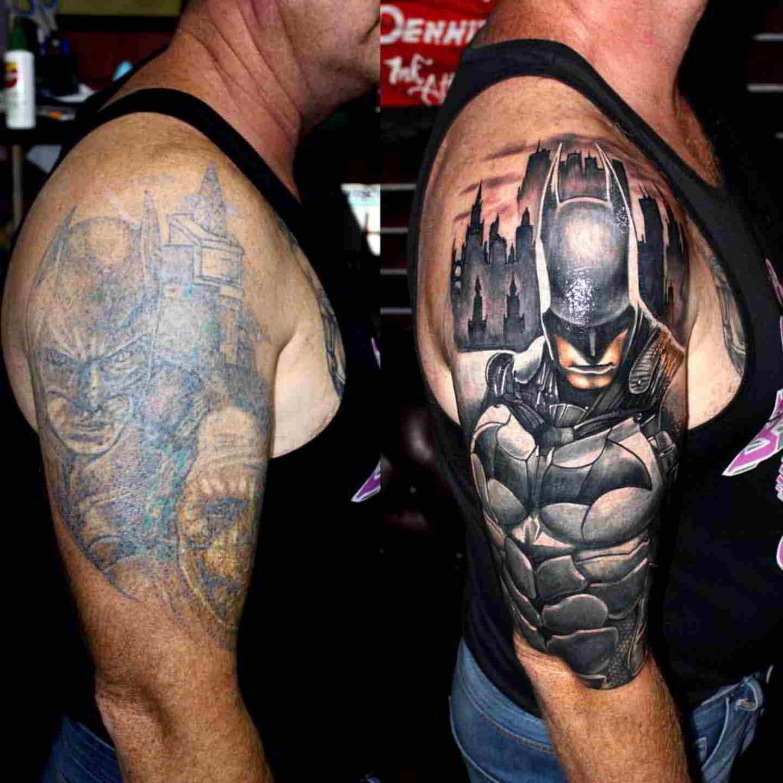 Se puede cubrir un tatuaje con otro