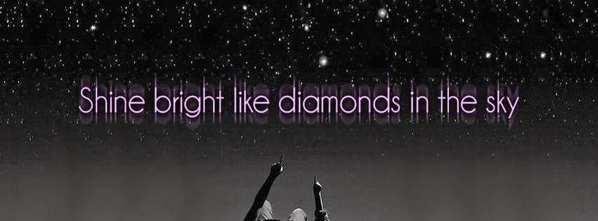 Diamond sky cover photo for facebook