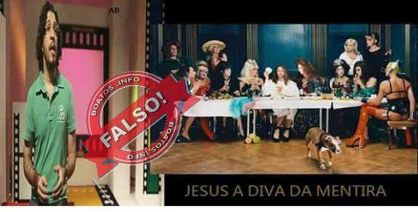 Filme do diretor Jean Wyllys: Jesus a diva da mentira é BOATO!