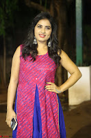 Srushti in beautiful Pink Sleeveless Dress Cute Actress Dimples ~  Exclusive 055.JPG