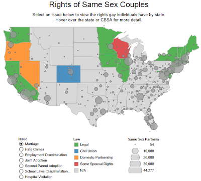 Updated: Rights of Same Sex Couples