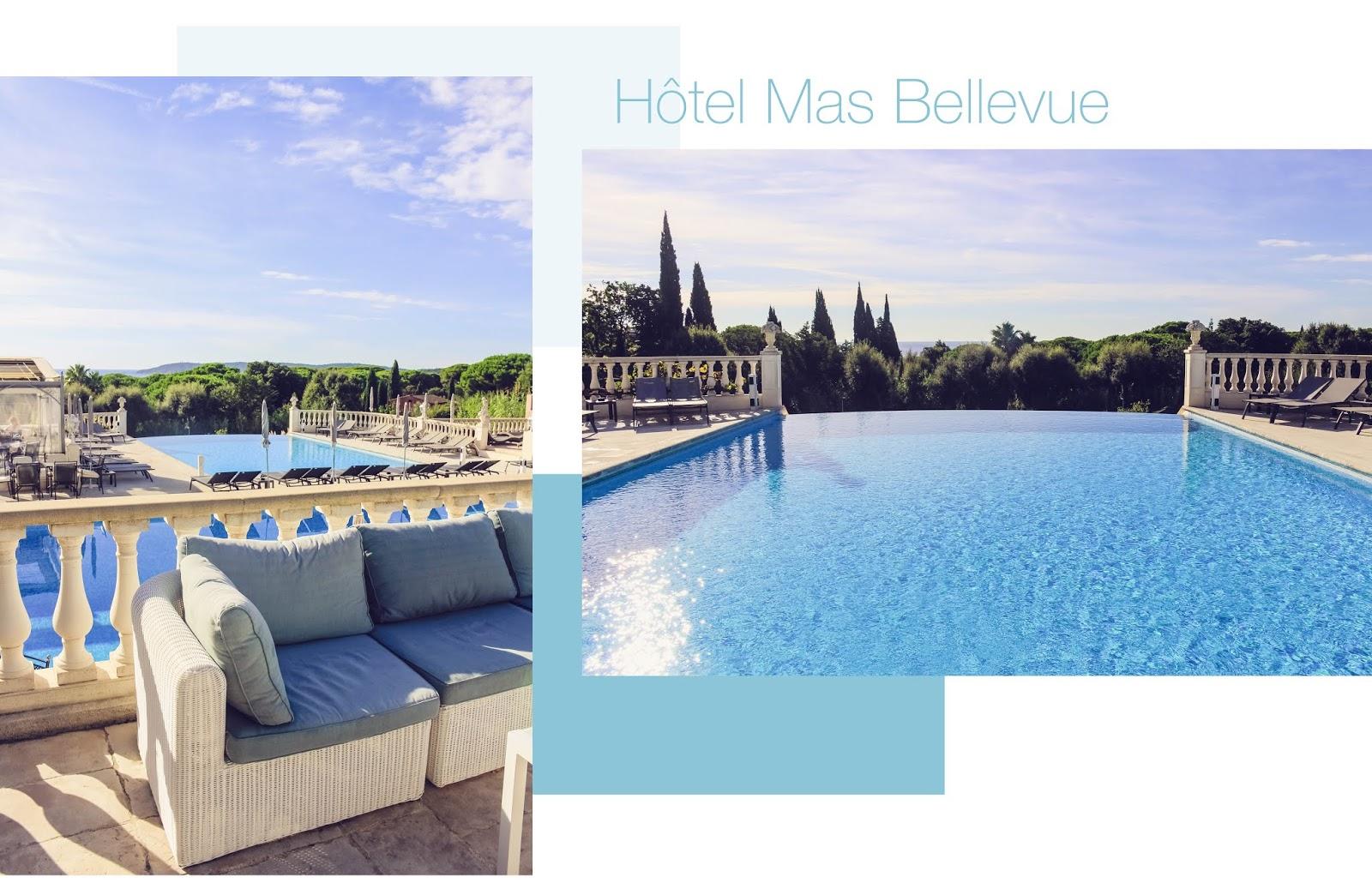 hôtel mas Bellevue saint Tropez