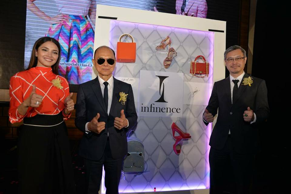 infinence launching by fazura and dato jimmy choo