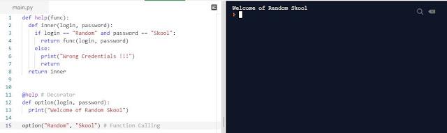 Python Programming - Decorator   Error Handling   Parameter Passing