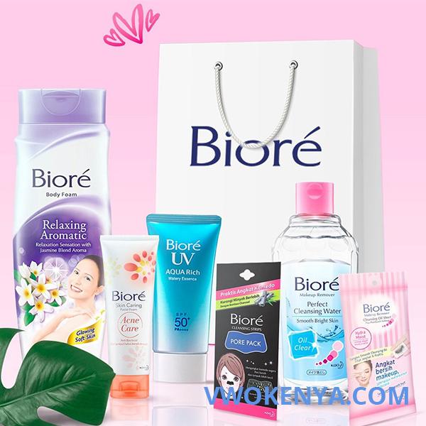 Lịch sử hình thành thương hiệu mỹ phẩm Biore
