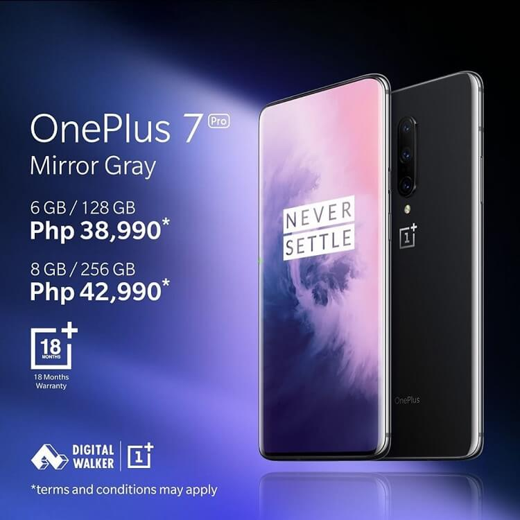 OnePlus 7 Pro Coming to PH, Local Pricing Announced