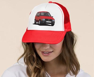 Fiat Uno Turbo i.e. lippalakki - autolippikset