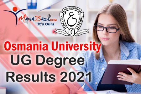 Osmania University UG Degree Results 2021