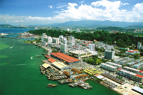 City View of Kota Kinabalu