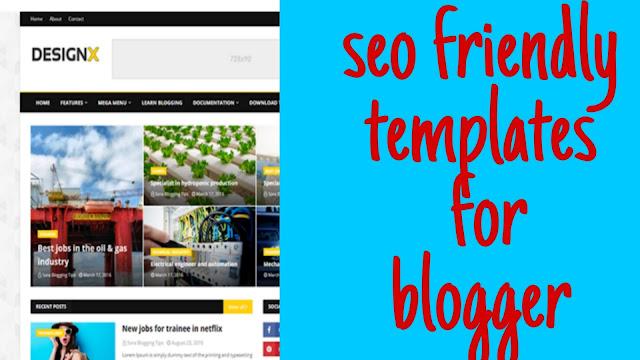 Best responsive template for blogger