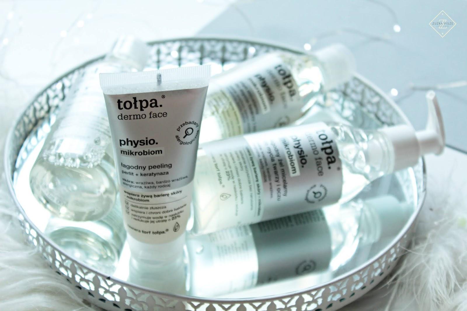 tołpa.® dermo face physio. mikrobiom - kosmetyki do oczyszczania twarzy