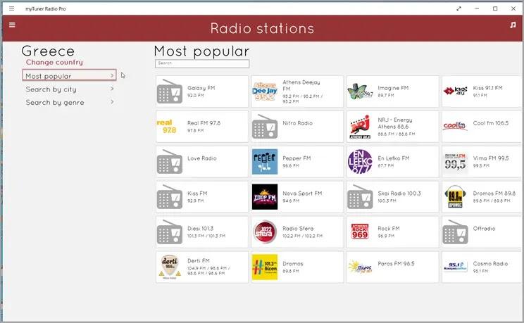 My Tuner Radio :   Το δωρεάν ραδιόφωνο στο διαδίκτυο,  για κινητά  και υπολογιστή