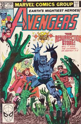 Avengers #209