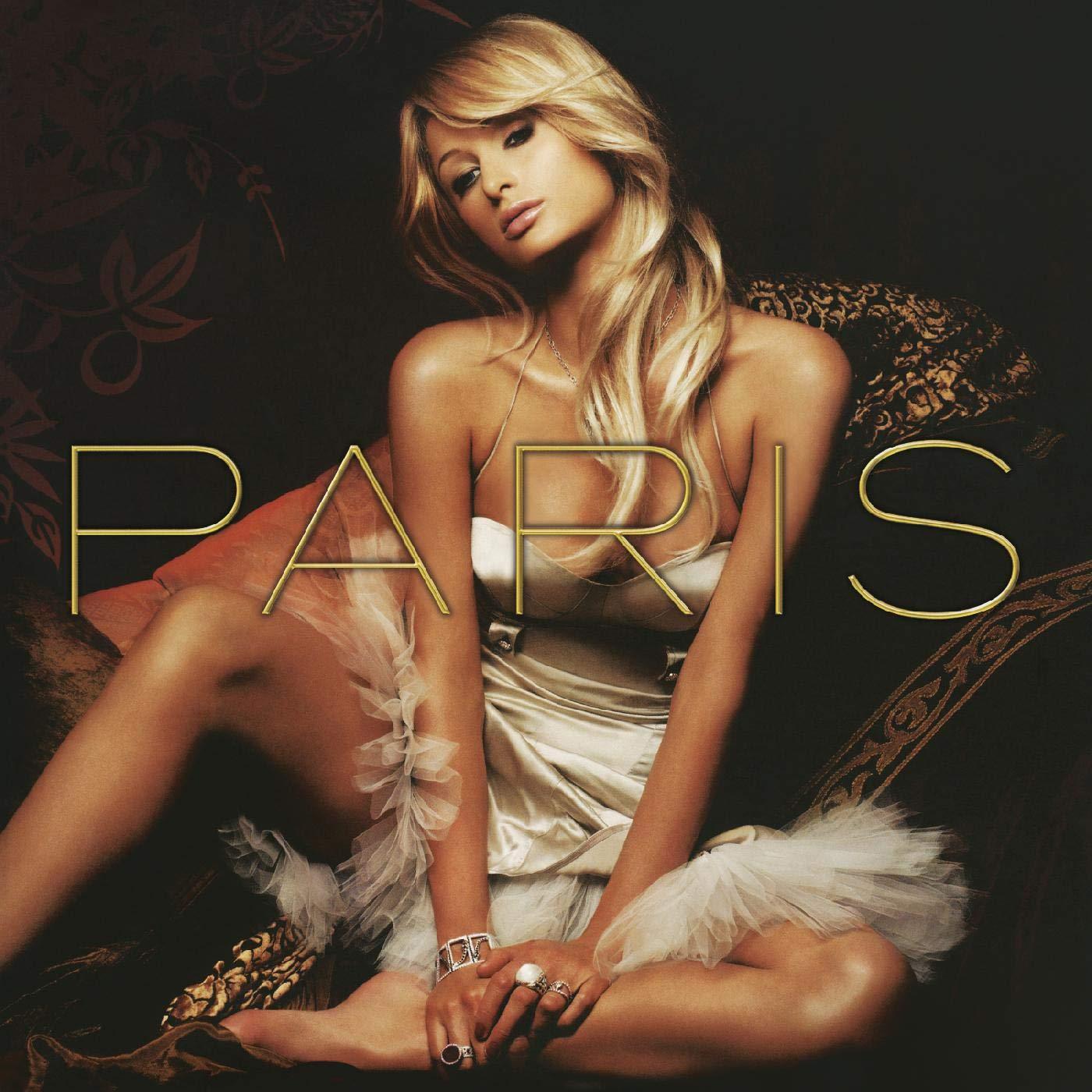 Paris Hilton album cover