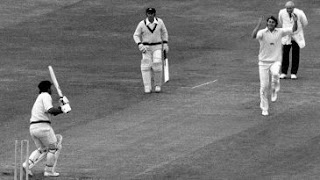 First ever World Cup Semi-final Match in Cricket History - Rod Marsh bowled