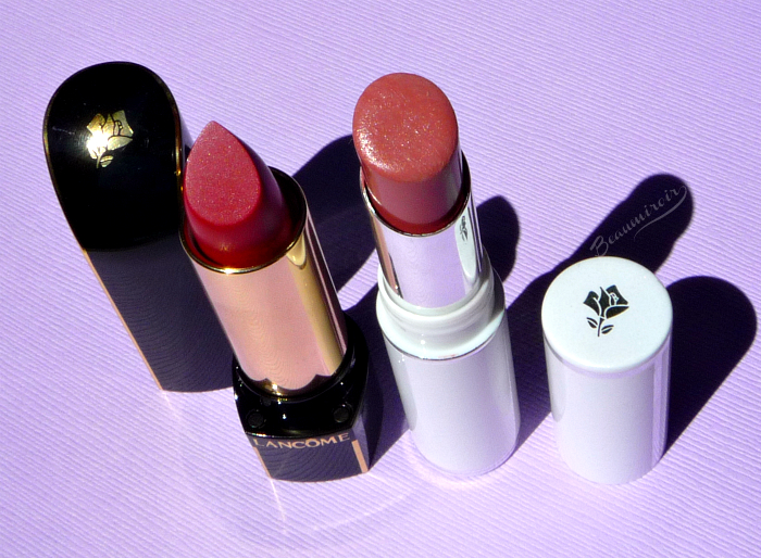 Lancome lipstick L'Absolu Rouge Definition Le Sepia & Shine Love Twisted Beige
