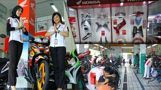 Membeli Sepeda Motor Melalui Dealer