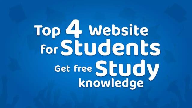 Students के लिए Top 4 Website और get free Study knowledge