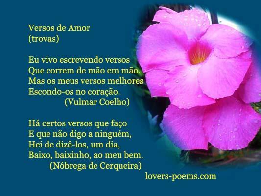 Versos De Amor: Piadas Pro Facebook: Versos De Amor-Frases Amorosas