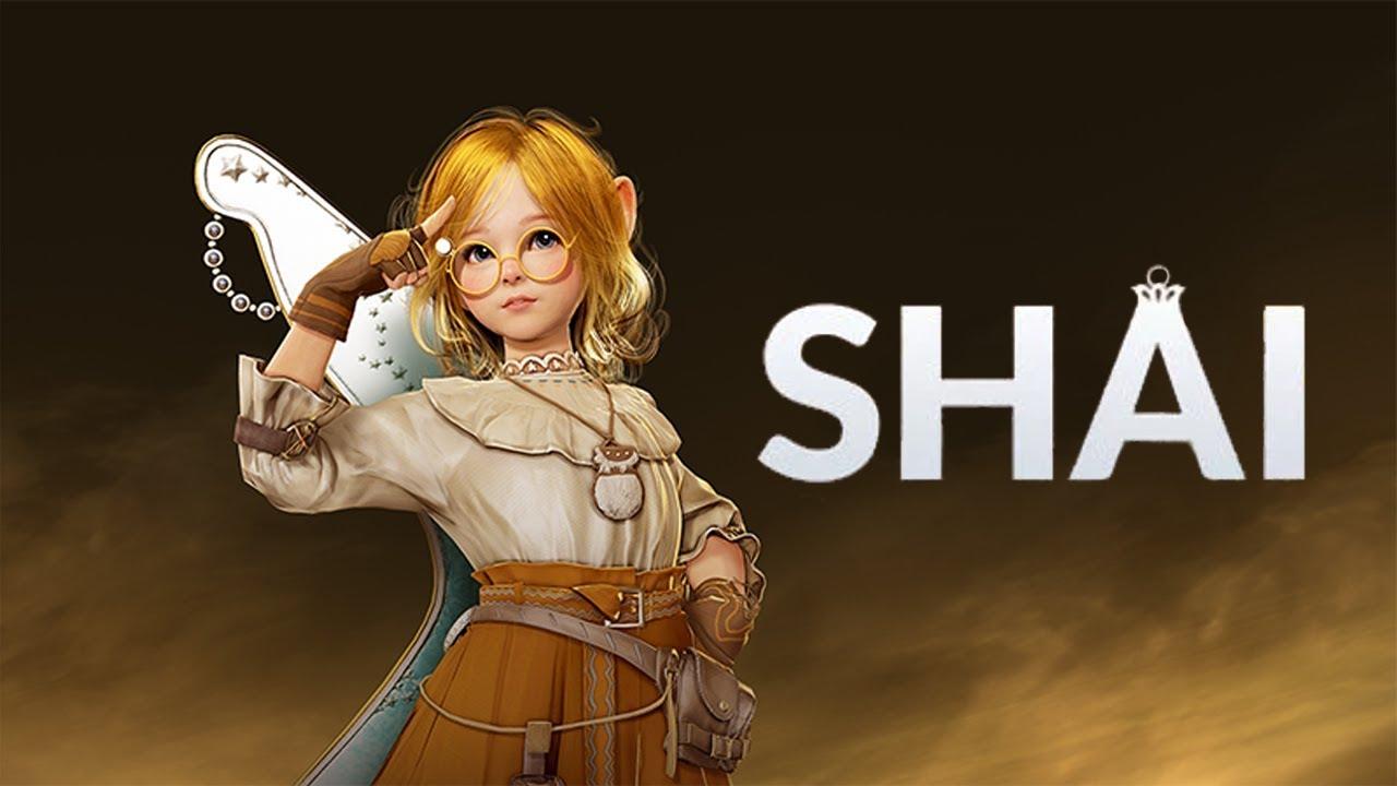 Yeni Shai Sınıfı Black Desert Mobile