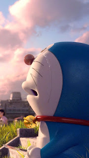 Wallpaper Whatsapp Doraemon 3D