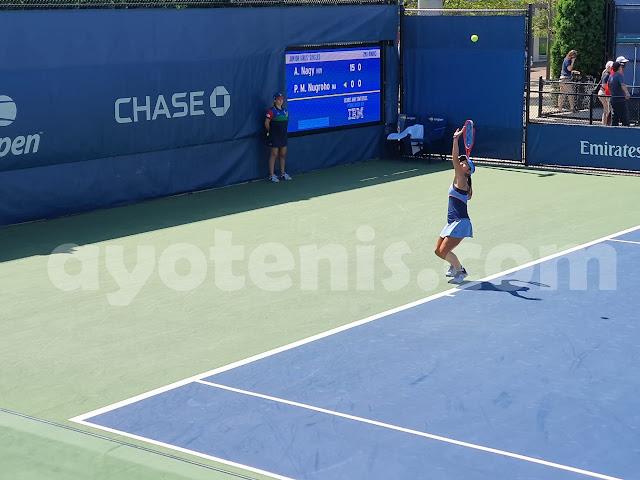 US Open: Libas Petenis Hongaria, Priska Melaju ke Babak 3