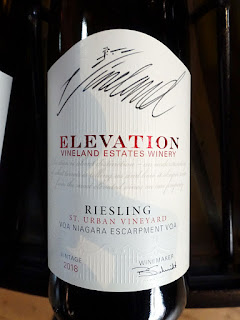 Vineland Estates Elevation St. Urban Vineyard Riesling 2018 (90 pts)